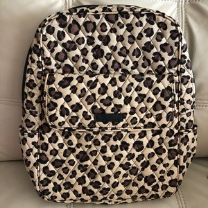 New VERA BRADLEY Small BACKPACK leopard